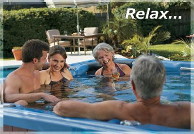 Couples enjoying a spa